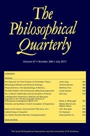 Best of Philosophy | Journals