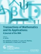 Transactions of Mathematics and its Applications