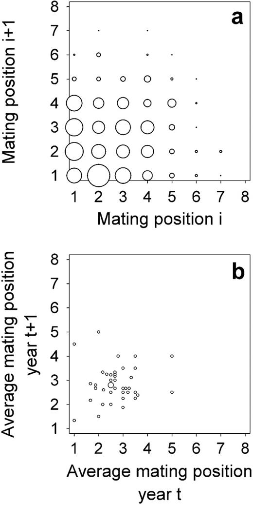 Mating Order And Reproductive Success In Male Columbian Ground