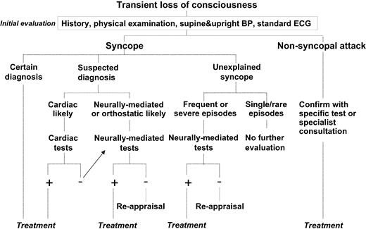 Guidelines On Management Diagnosis And Treatment Of Syncope