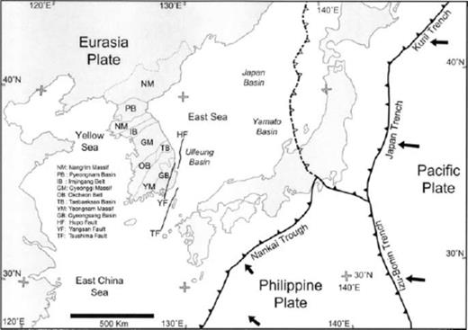 Focal Mechanisms Of Recent Earthquakes In The Southern Korean