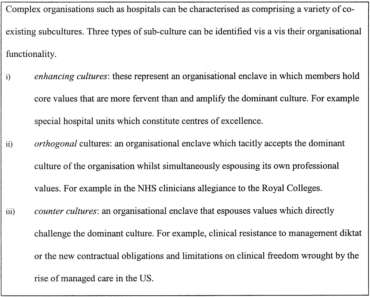 Implementing Culture Change In Health Care Theory And Practice