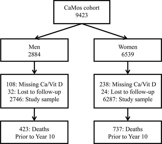Calcium And Vitamin D Intake And Mortality Results From The