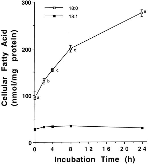 Desaturation Of Stearate Is Insufficient To Increase The