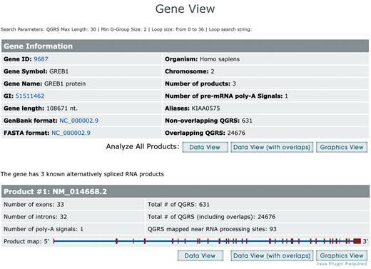 Qgrs Mapper A Web Based Server For Predicting G Quadruplexes In