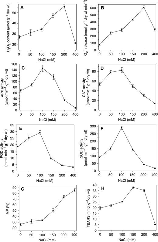 Glucose 6 phosphate dehydrogenase plays a pivotal role in nitric effects of salt treatment on ros contents antioxidant enzyme activities mp and tbars contents ccuart Gallery
