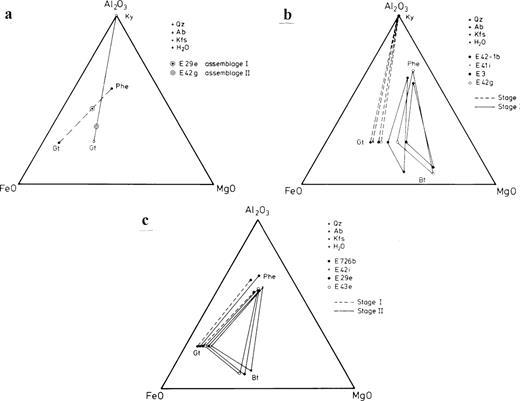 Pressure Temperature And Fluid Evolution Of Quartzo Feldspathic